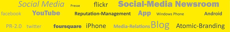 Seitenbanner Social Media