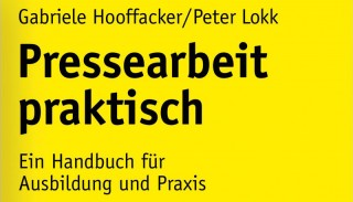 """Das Buchcover von """"Pressearbeit praktisch"""""""