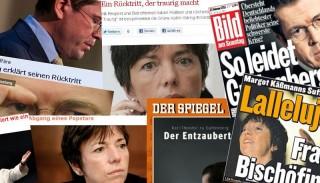 Die Fälle Käßmann und zu Guttenberg schlugen in den Medien hohe Wellen