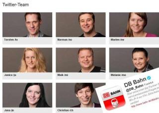 Das Twitter-Team der Deutschen Bahn